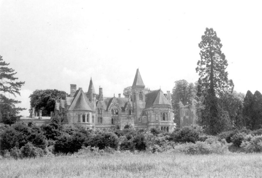 Ettington Park, the house.  1960s    IMAGE LOCATION: (Warwickshire County Record Office)