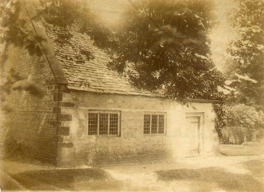 The Quaker Meeting House, Ettington.  1890s |  IMAGE LOCATION: (Warwickshire County Record Office)