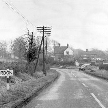 Claverdon.  Road into village
