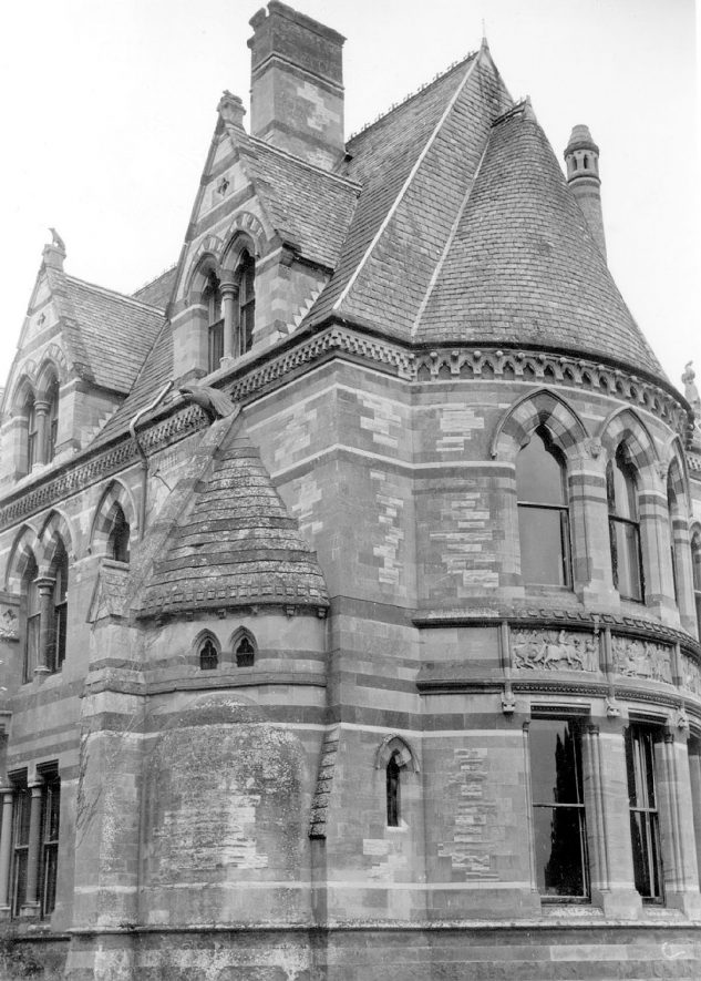 Ettington Park Hotel.  1973 |  IMAGE LOCATION: (Warwickshire County Record Office)