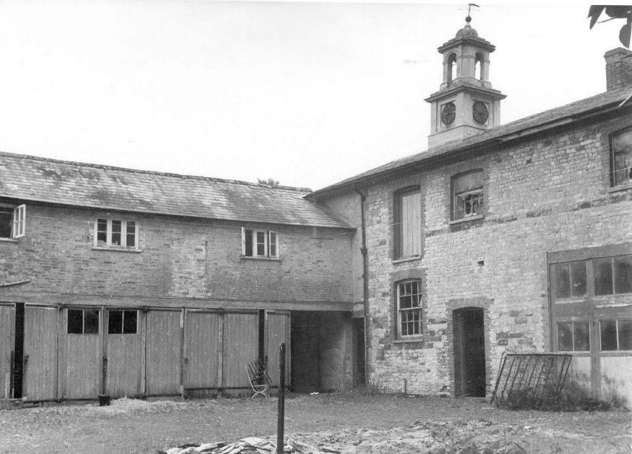 The stables at Ettington Park Hotel.  1973 |  IMAGE LOCATION: (Warwickshire County Record Office)