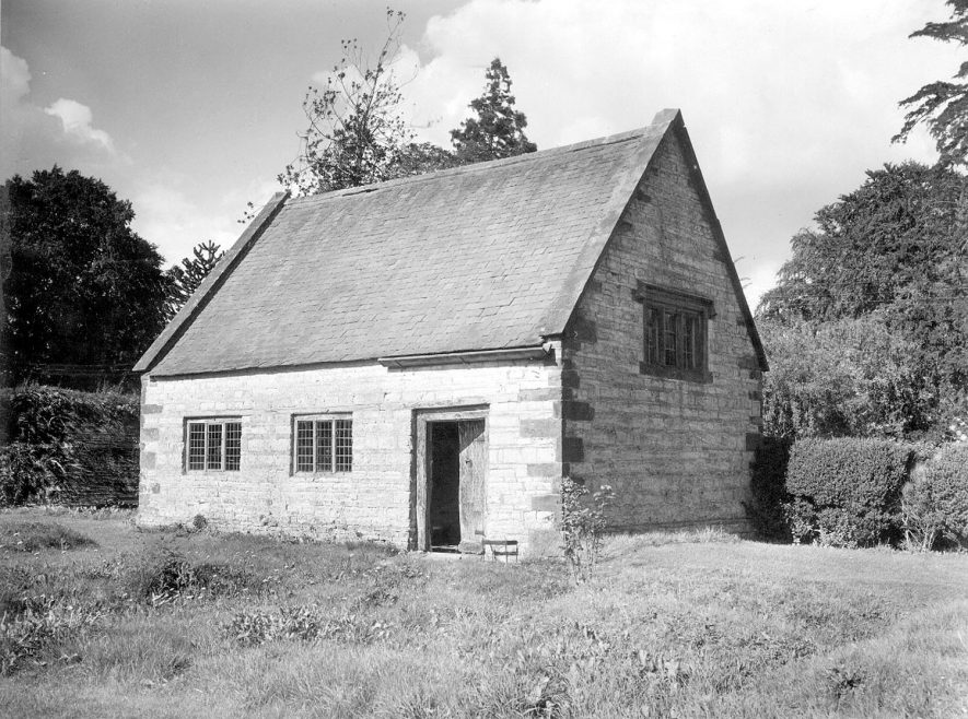 The Quaker meeting house in Ettington.  1953 |  IMAGE LOCATION: (Warwickshire County Record Office)