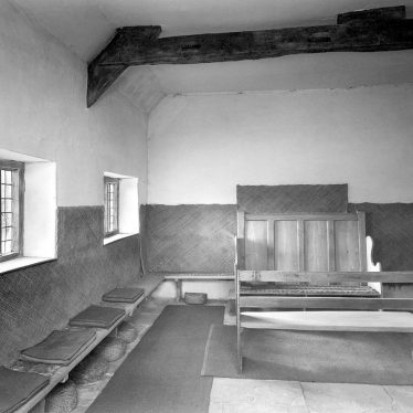 Ettington.  Quaker Meeting House interior