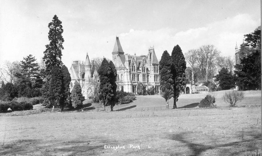 Ettington Park Hotel, Ettington.  1950s |  IMAGE LOCATION: (Warwickshire County Record Office)