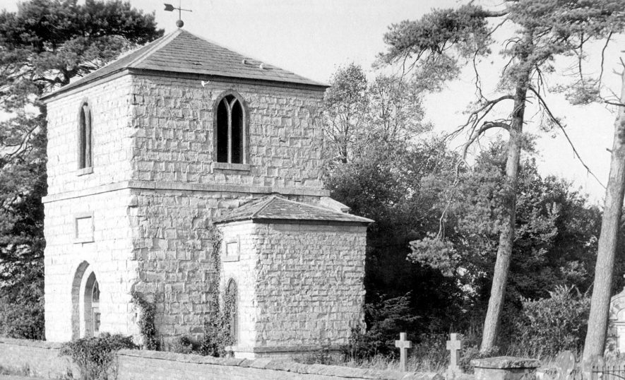 St Thomas Becket church, Ettington.  1966 |  IMAGE LOCATION: (Warwickshire County Record Office)