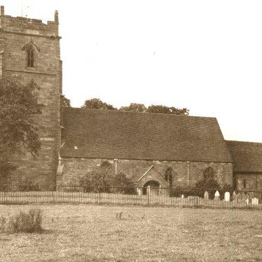 Curdworth.  Church exterior