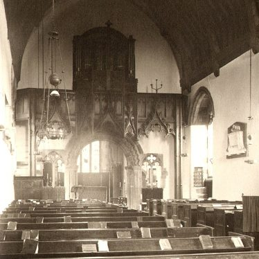 Curdworth.  Church interior