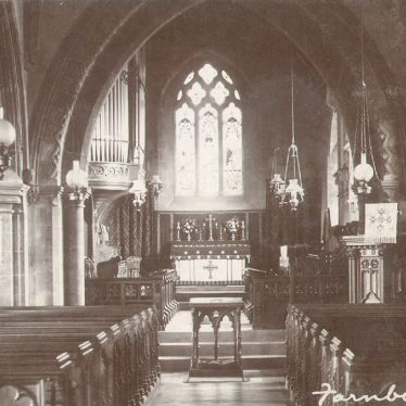 Farnborough.  Parish church interior