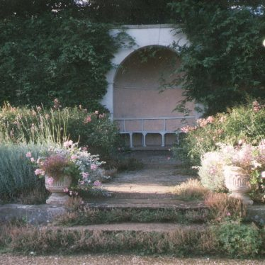 Farnborough Hall.  Arbour