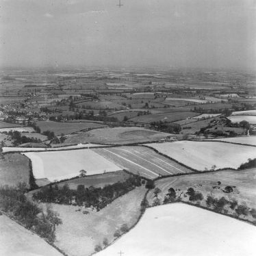 Fenny Compton.  Aerial view from Gredenton Hill