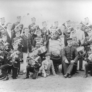 Fillongley.  Shawbury Industrial School Band