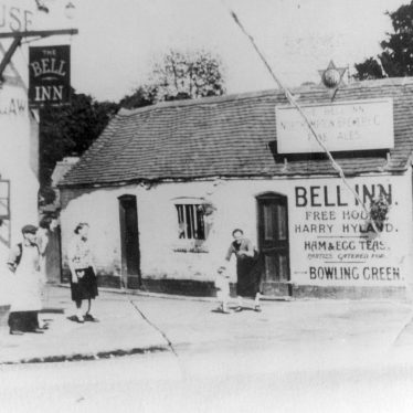 Fillongley.  Post Office and Bell Inn