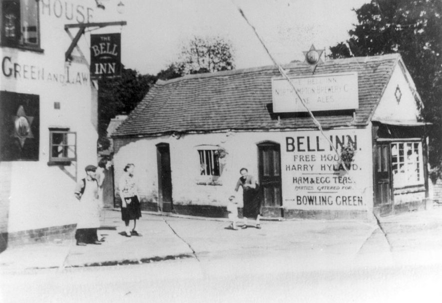 The Bell Inn and post office, Fillongley.  1940s |  IMAGE LOCATION: (Warwickshire County Record Office)