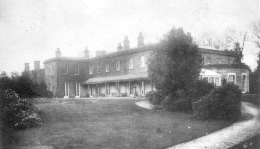 Fillongley Hall and grounds.  1900s |  IMAGE LOCATION: (Warwickshire County Record Office)
