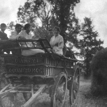 Combrook.  Farm wagon