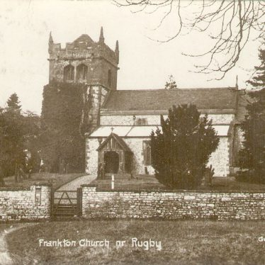 Frankton.  St Nicholas church