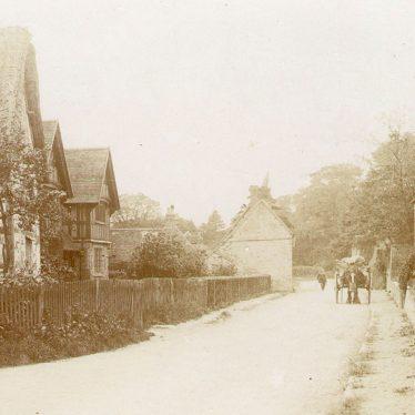 Great Alne.  Village street