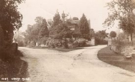 The lodge at the entrance to Great Alne Park.  1900s |  IMAGE LOCATION: (Warwickshire County Record Office)