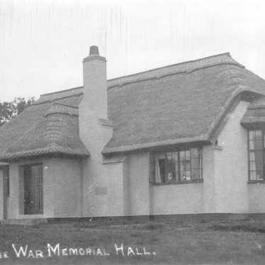 Great Alne.  War memorial hall