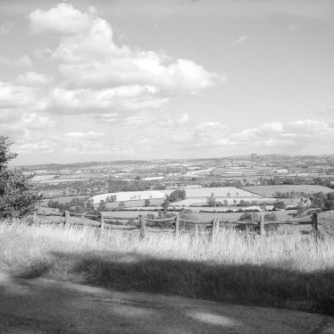 Foxcote.  View from Foxcote Hill