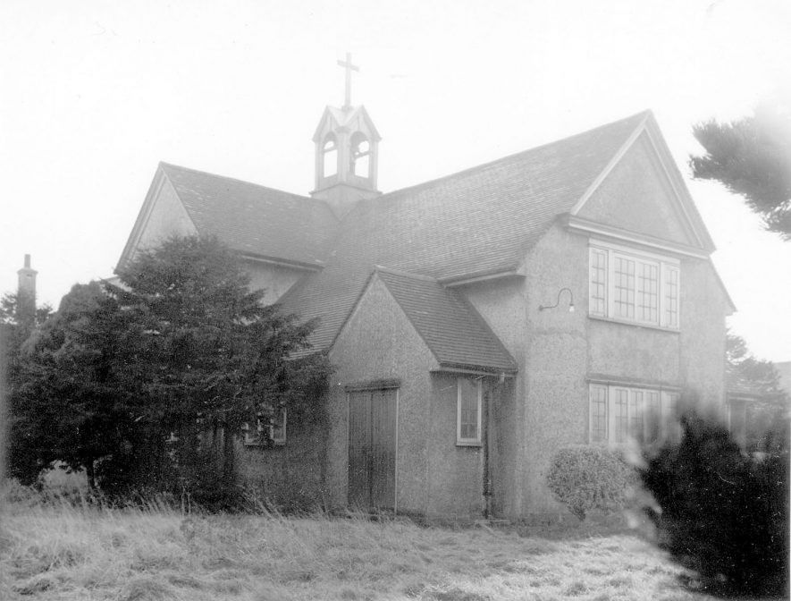 St Peter's church, Galley Common.  1950s |  IMAGE LOCATION: (Warwickshire County Record Office)