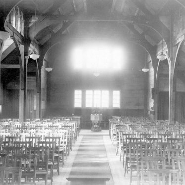 Galley Common.  St Peter's church interior
