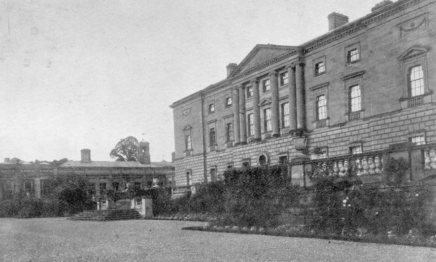 Packington Hall, Great Packington.  1905 |  IMAGE LOCATION: (Warwickshire County Record Office)