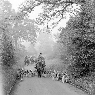Hampton on the Hill.  North Warwickshire Hunt