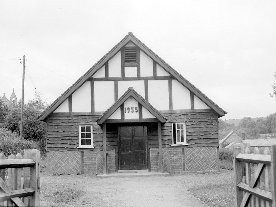 Ilmington village hall.  1948 |  IMAGE LOCATION: (Warwickshire County Record Office)