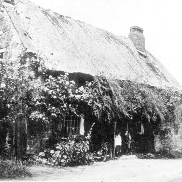 Ilmington.  Two cottages which have been demolished