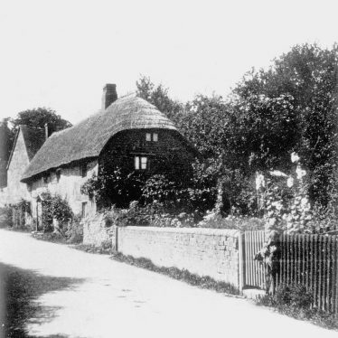 Ilmington.  Two cottages which have now been demolished