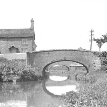 Hartshill.  Canal and bridge