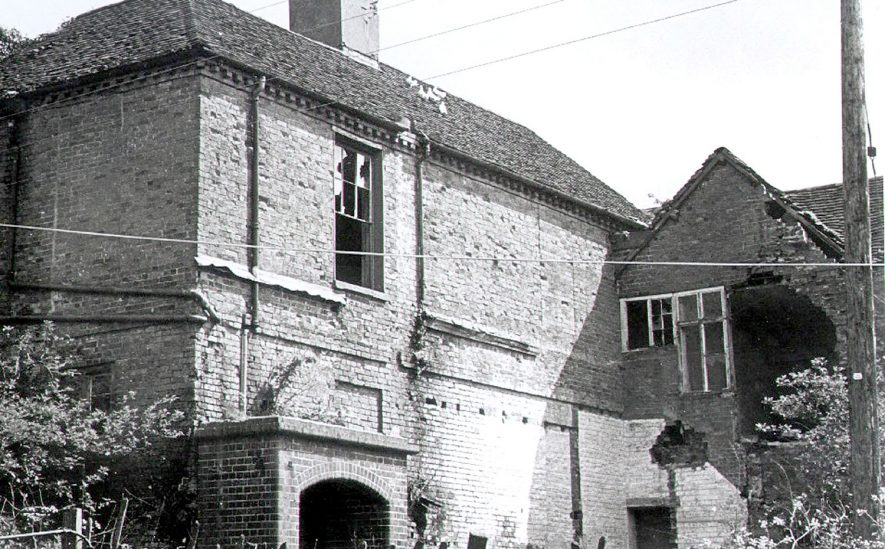 Haseley Old Manor House,  Demolished in 1972 |  IMAGE LOCATION: (Warwickshire County Record Office)