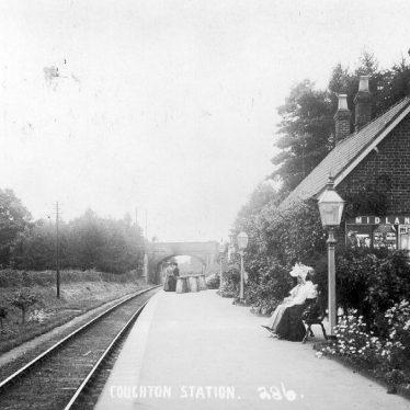 Coughton.  Railway Station