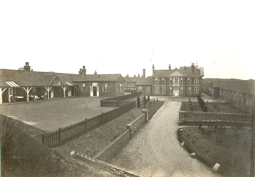 Hatton Sanatorium at Hertford Hill.  1924 |  IMAGE LOCATION: (Warwickshire County Record Office)