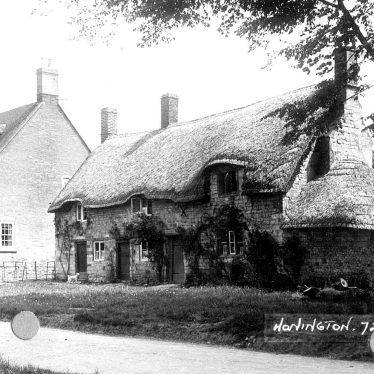 Honington.  Cottages