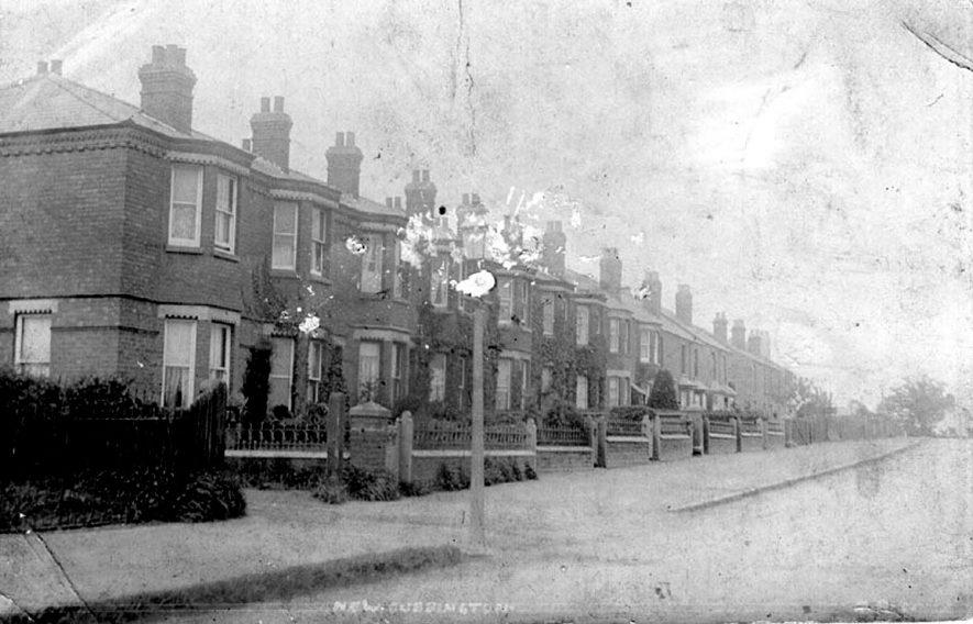 New Cubbington street scene.  1905    IMAGE LOCATION: (Warwickshire County Record Office)