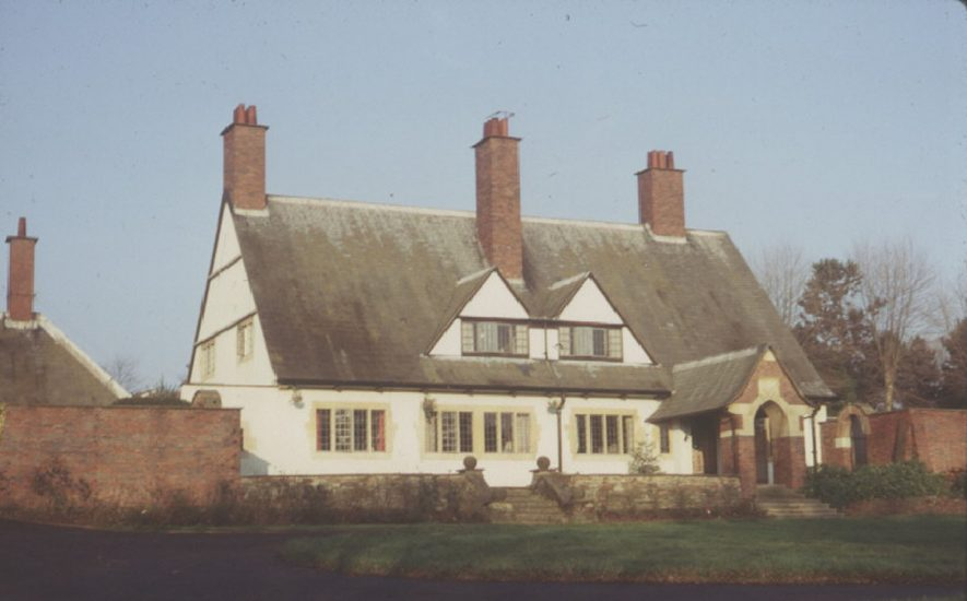 Brook End, New Road, Henley in Arden.  1960s |  IMAGE LOCATION: (Warwickshire County Record Office)