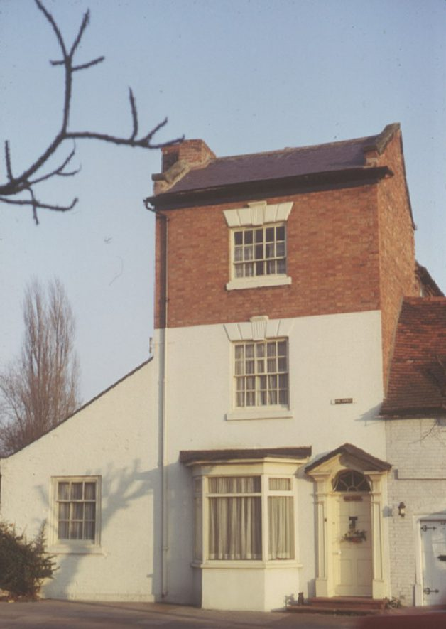 No 35 The Limes, High Street, Henley in Arden.  1973 |  IMAGE LOCATION: (Warwickshire County Record Office)