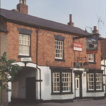 Henley in Arden.  Black Swan, High Street