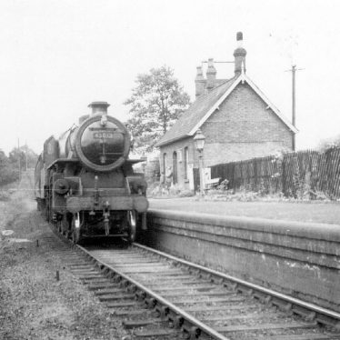 Coughton.  Railway Station