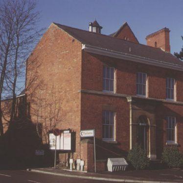 Henley in Arden.  High Street, Police Station