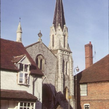 Henley in Arden.  Baptist Chapel, High Street