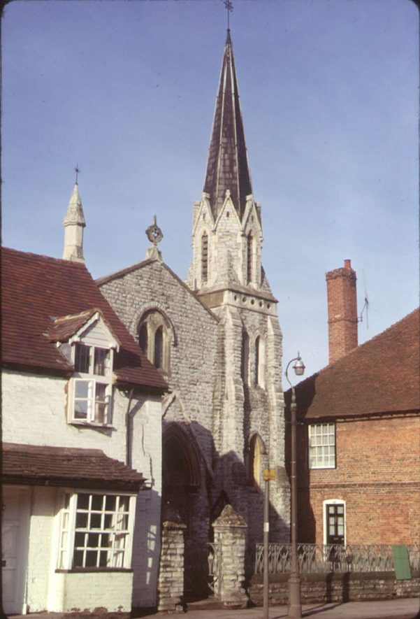 Henley in Arden Baptist Chapel in High Street.  1973 |  IMAGE LOCATION: (Warwickshire County Record Office)