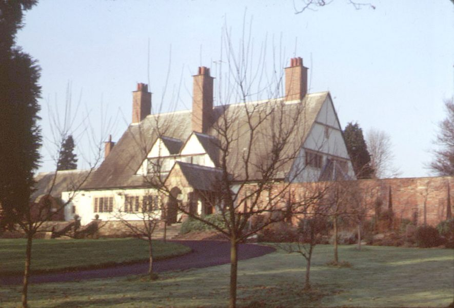 Brook End, New Road, Henley in Arden.  1973 |  IMAGE LOCATION: (Warwickshire County Record Office)