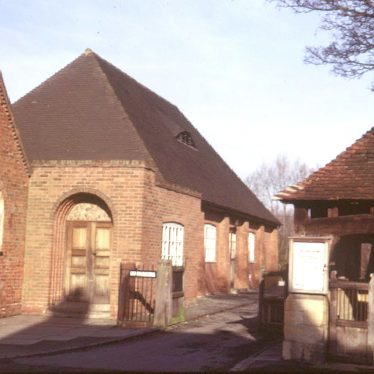 Beaudesert.  Parish room, church hall and lychgate
