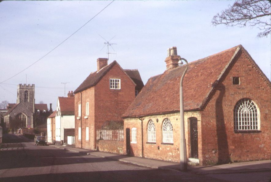 Beaudesert, Parish Room.  1973 |  IMAGE LOCATION: (Warwickshire County Record Office)
