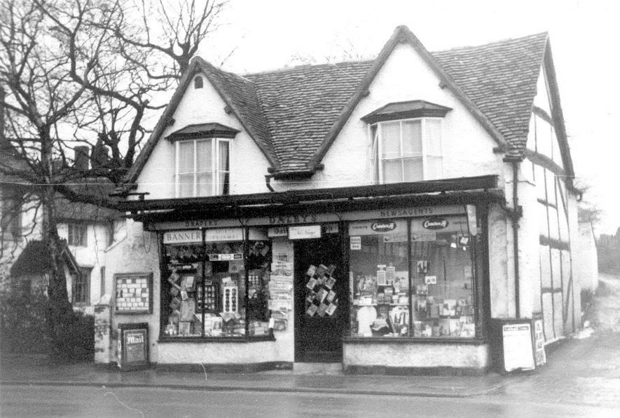 Dalbys shop, 86 High Street, Henley in Arden.  1959 |  IMAGE LOCATION: (Warwickshire County Record Office)