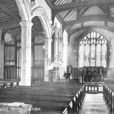 Henley in Arden.  Church of St John the Baptist