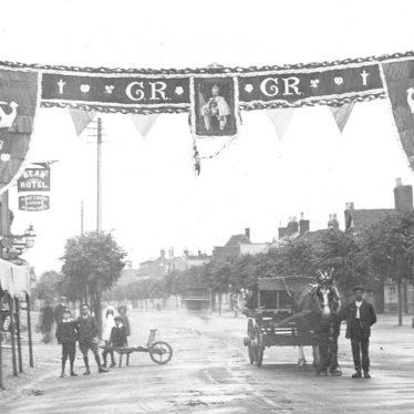 Henley in Arden.  Coronation celebrations